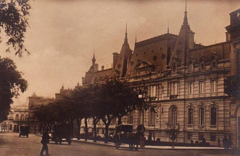 Palacio Paz foto antigua